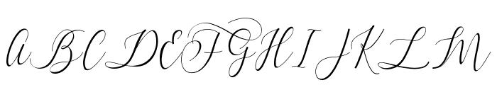 Dialova Font UPPERCASE