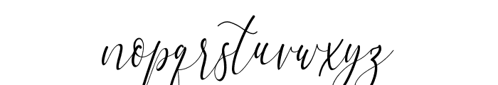 Dialova Font LOWERCASE