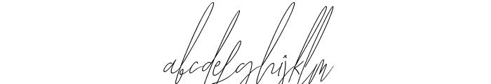 Diamante Signature_Italic Font LOWERCASE