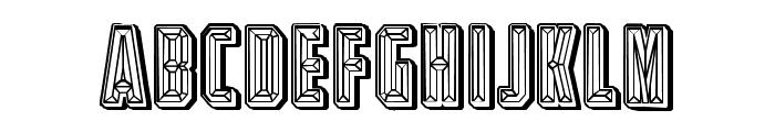 Diamond Ring Linear Regular Font UPPERCASE