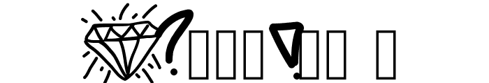 DiamondLife Font OTHER CHARS