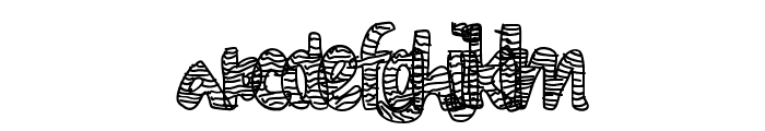 DiamondLife Font LOWERCASE