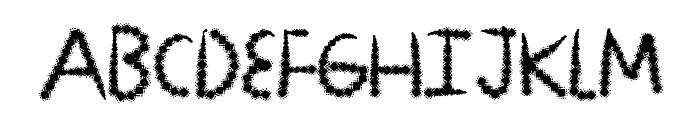 DiamondLux Font UPPERCASE