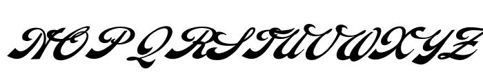 Diamonde Personal Use Font UPPERCASE
