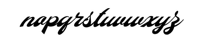 Diamonde Personal Use Font LOWERCASE