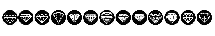 Diamondo Regular Font UPPERCASE