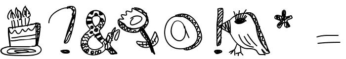 DiamondsAreForever Font OTHER CHARS