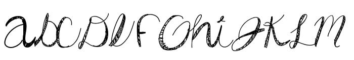 DiamondsAreForever Font UPPERCASE