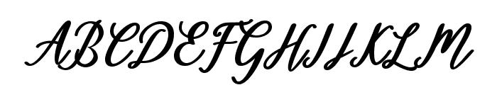 Diantha Font UPPERCASE