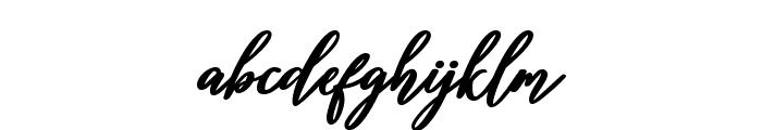 Diantha Font LOWERCASE