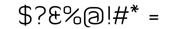 Diavlo Light Regular Font OTHER CHARS