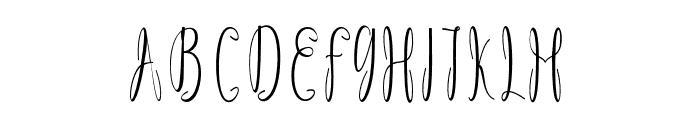 Dicella Font UPPERCASE