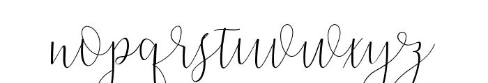 Dicella Font LOWERCASE