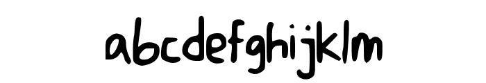 DicisHandwrite Font LOWERCASE