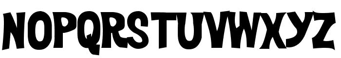 DickVanDykeBold Font LOWERCASE