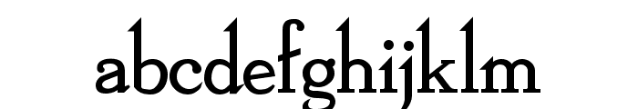 Dickens Bold Font LOWERCASE