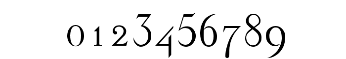 Dickens Regular Font OTHER CHARS