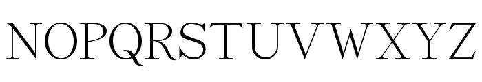 Dickens Regular Font UPPERCASE