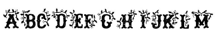 DickensMcQueen Font UPPERCASE