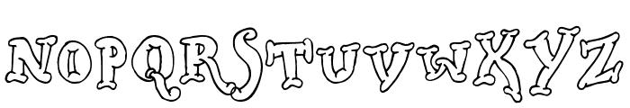 Dickwhipped Lincoln Font UPPERCASE
