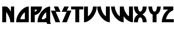 Die Nasty Regular Font LOWERCASE