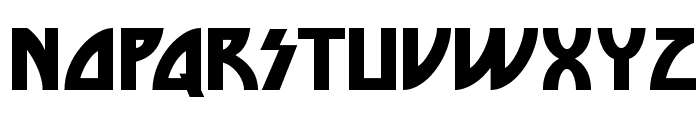 DieNasty-Regular Font UPPERCASE