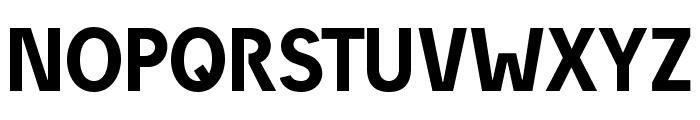 DieUeberSchrift-Halbfettreduced Font UPPERCASE