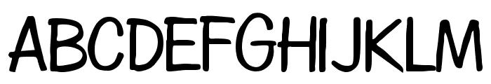 Diego Regular Font UPPERCASE