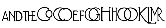 Diehl Deco - Alts Font UPPERCASE