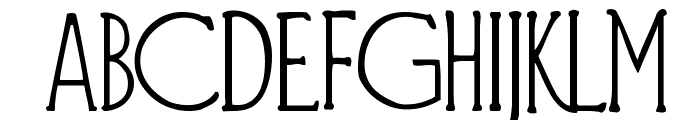 Diehl Deco Font LOWERCASE