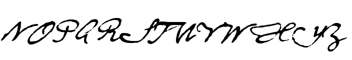 DieselRudolf-reduced Font UPPERCASE