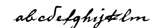 DieselRudolf-reduced Font LOWERCASE