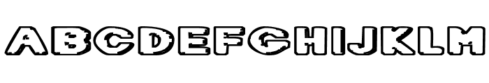 Diet Dr. Creep Font UPPERCASE