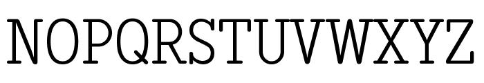 Diezma Rd Light Font UPPERCASE