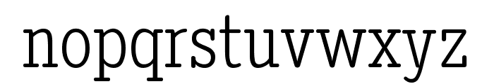 Diezma Rd Light Font LOWERCASE