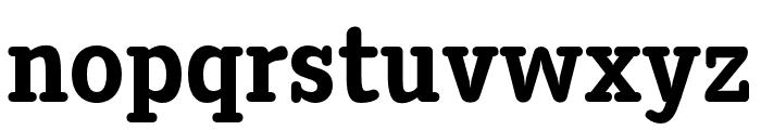 DiezmaRd-ExtraBold Font LOWERCASE