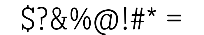 DiezmaRd-Light Font OTHER CHARS