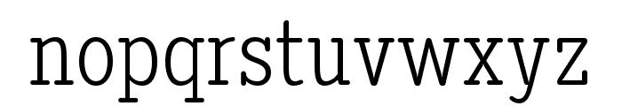 DiezmaRd-Light Font LOWERCASE