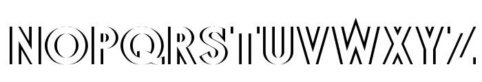 DiffiKult Font UPPERCASE