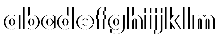 DiffiKult Font LOWERCASE