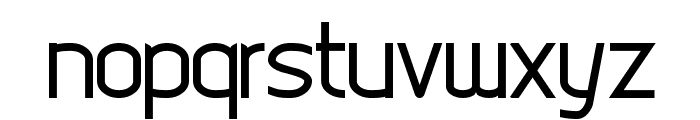 Digicity Font LOWERCASE