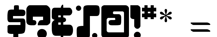 Digifit Font OTHER CHARS