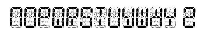 Digital Dust Font UPPERCASE