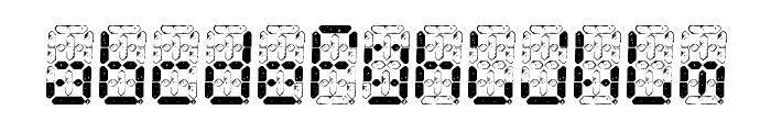 Digital Dust Font LOWERCASE