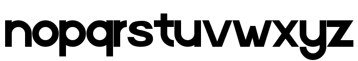 Digital-Video-Regular Font LOWERCASE