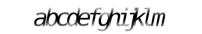 DigitalStream Font LOWERCASE