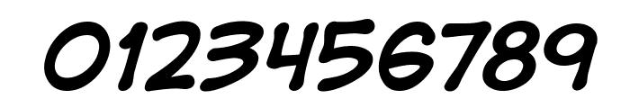 DigitalStrip BB Bold Italic Font OTHER CHARS
