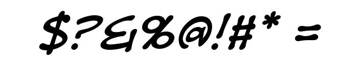 DigitalStrip BB Italic Font OTHER CHARS