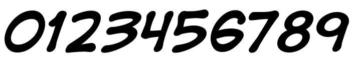 DigitalStrip  Bold Font OTHER CHARS