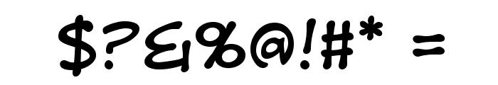 DigitalStripBB Font OTHER CHARS